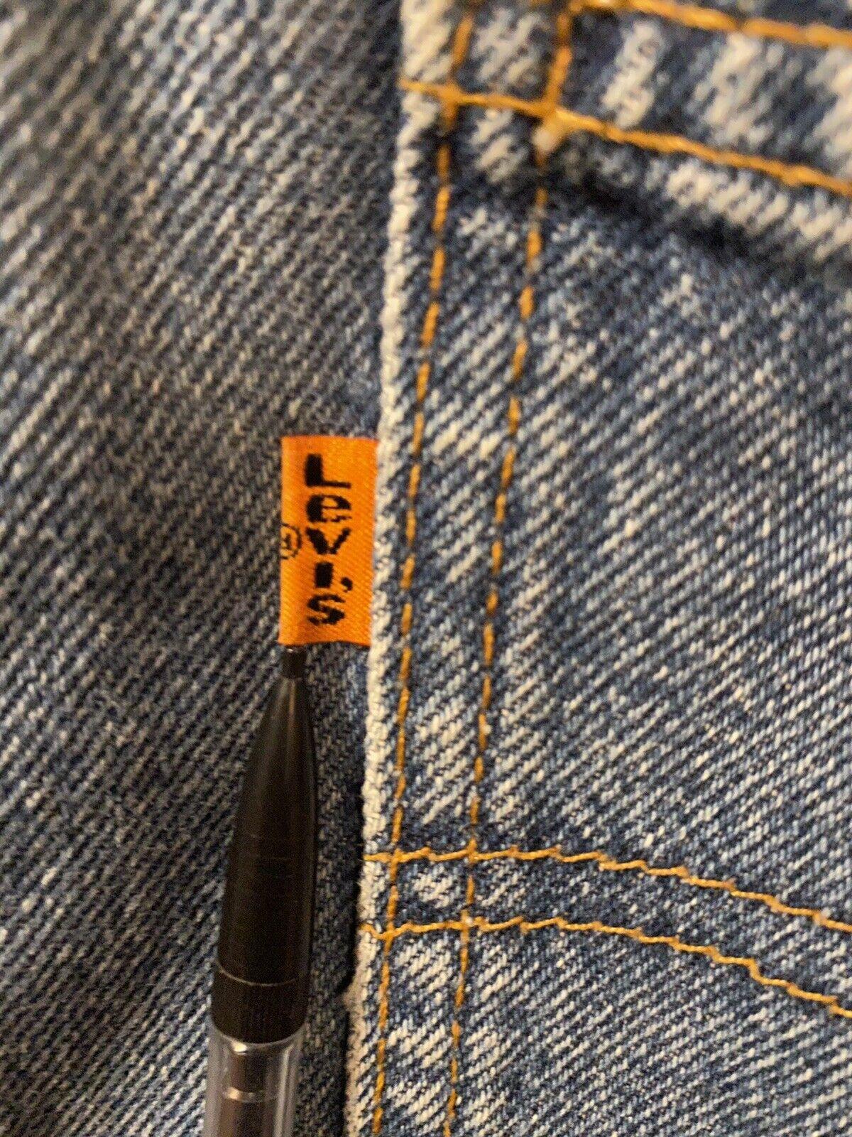 Vintage Levis (Orange Tab) Made In USA - image 3