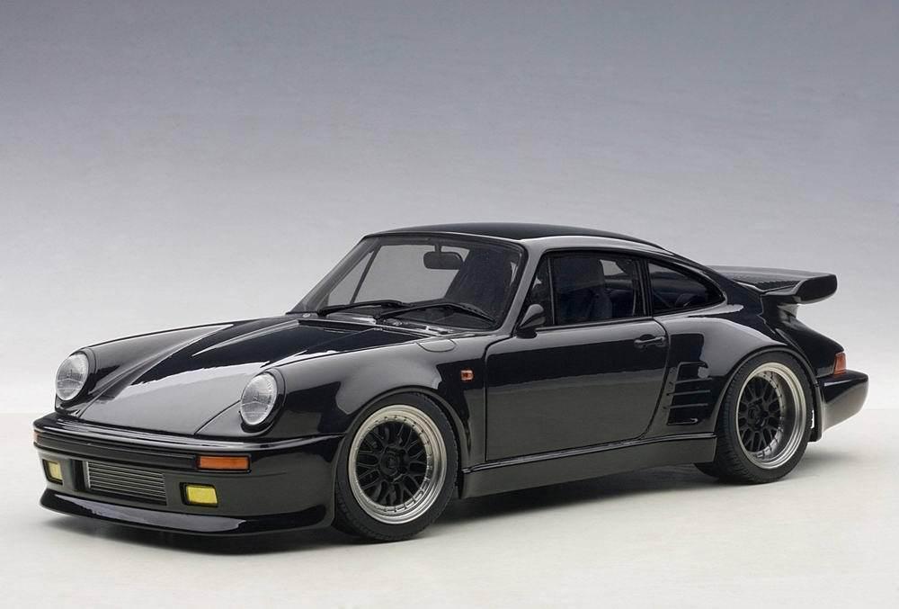 1 18 Autoart 78156 Porsche 911 (930) Turbo Wangan Medianoche  Negro