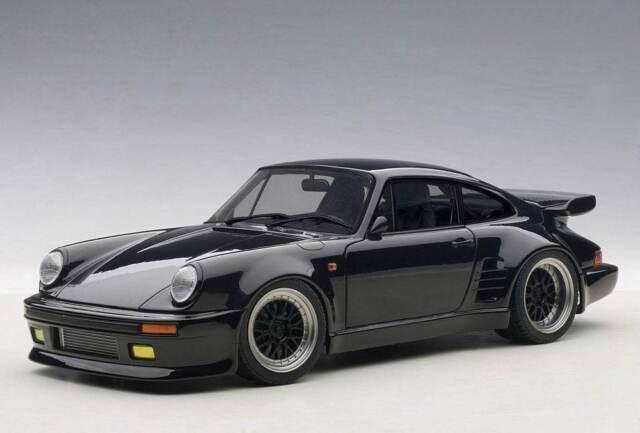 Autoart 118 Porsche 911 930 Turbo Wangan Midnight Black Bird Diecast 78156