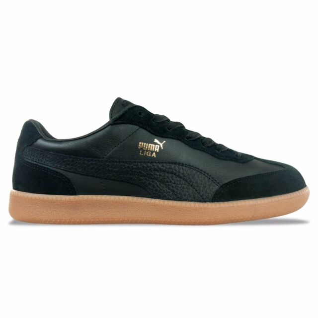 puma liga leather trainers