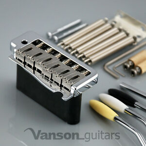 NEW Wilkinson WVPCR SB Tremolo Bridge for Strat®, STEEL BLOCK, Vintage, WVP SB