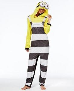 Ladies donna Union Suit ~ Nuovo 714147357278 In Xl Minion Pc One Pigiama Jumper Jail SXPzYwqxw6