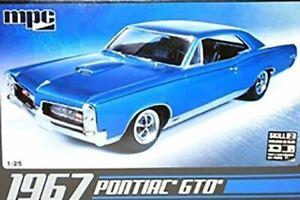 MPC 1/25 SCALE 1967 PONTIAC GTO MODEL BN 710