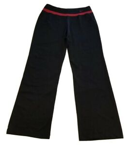 NIKE-PERFORMANCE-Women-s-Size-M-8-10-Black-Red-Activewear-Athletic-Pants