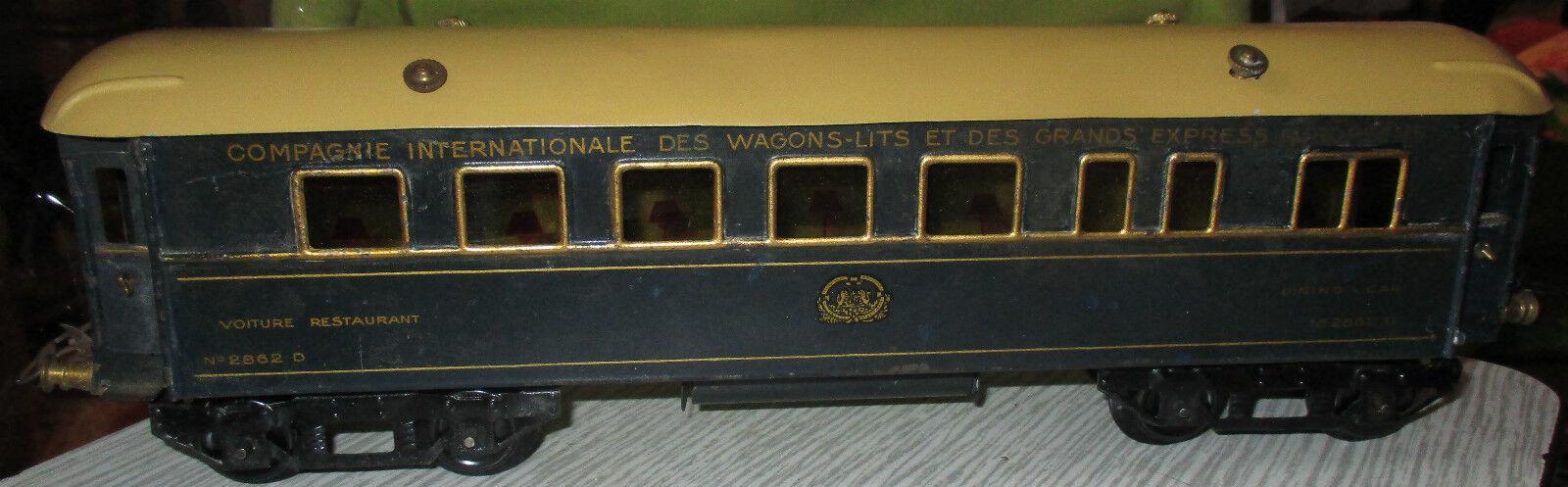Wagon voyageur pullman Hornby (portes ouvrantes)
