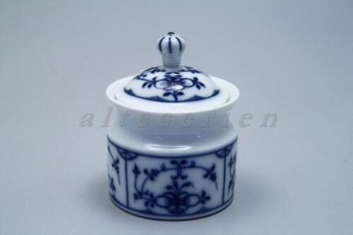 Sucrier H 11 cm Royal Pr Tettau alt Tettau Indien Bleu