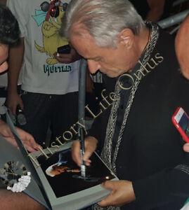 Autografo-su-foto-del-cantante-Amedeo-Minghi-Signed-Photo-Music