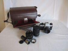 Revue Flex 1001 + 3x Objektive, Revuenon 1:2,8, 135mm, 35mm, usw. Tasche Zubehör