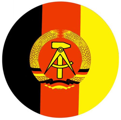20,00 cm 2x NVA Aufkleber DDR Emblem für Trabant Robur LO W50 MZ Ø  ca