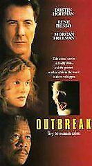 Outbreak VHS, 1995, DDSS  - $6.75