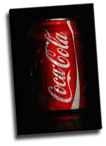 Coca Cola Can Loads Of Different Colours /& Sizes Giclee Canvas Bar Picture Art