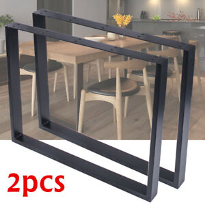 2X-Steel-Table-Legs-Bench-Wide-Table-Desk-Retro-Industrial-Design-Fully-Welded