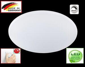 Honsel-22462-Geo-LED-Deckenleuchte-glas-weiss-leuchte-lampe-Dimmbar-Lampe-Rund