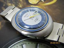 VINTAGE SEIKO 6119-8480 AUTOMATIC MEN'S WATCH 2 TONE DIAL OVAL CASE.