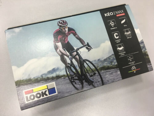 #00016090 LOOK Keo 2 Max Carbon Road Clipless Pedal Black