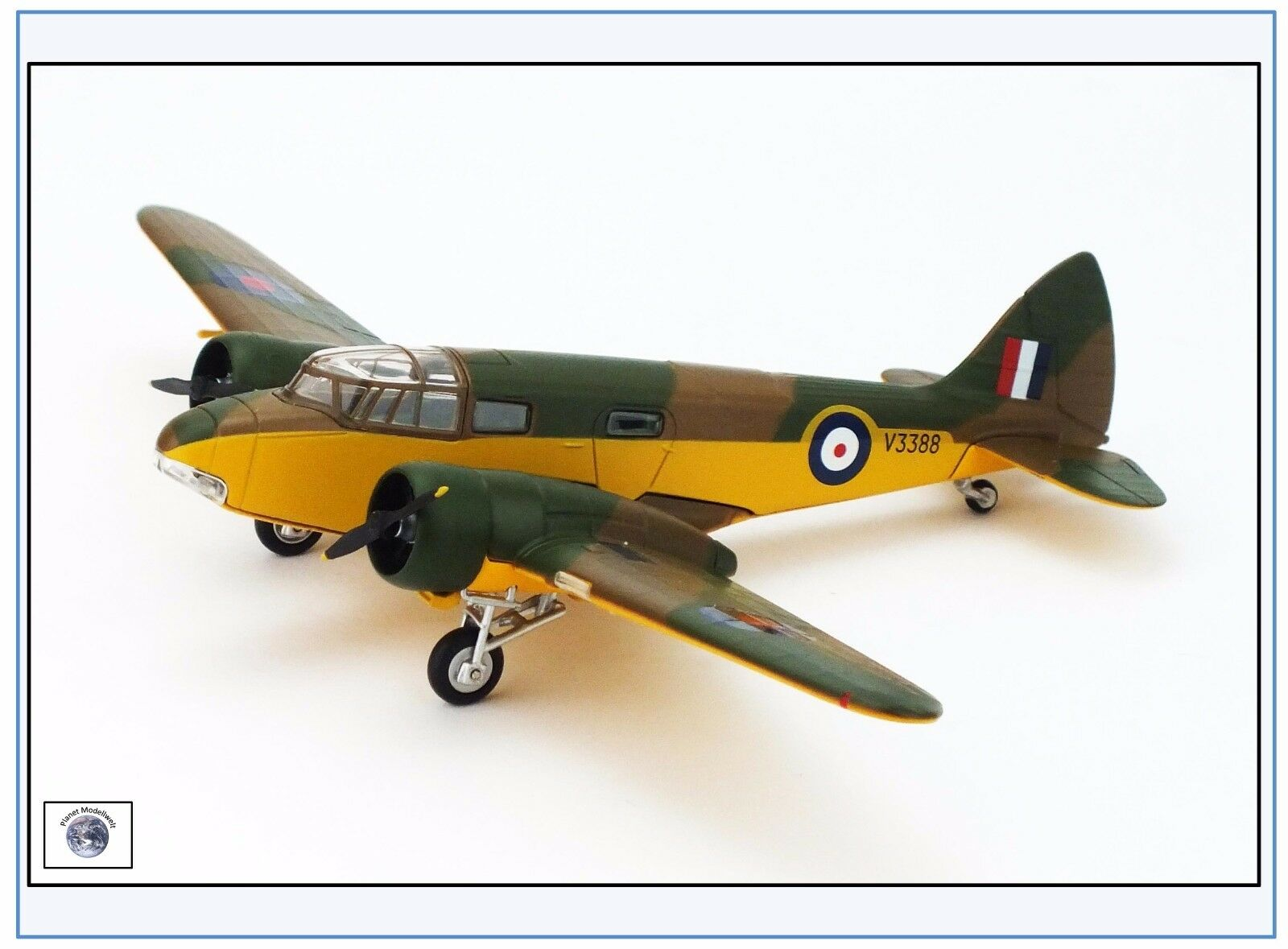 AO003 Airspeed AS.10 Oxford RAF Bomber Trainer 1937-56, Oxford 1 72, N 17 &