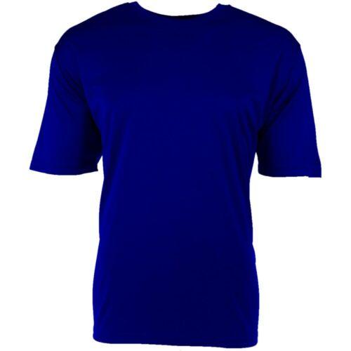 NEW Dri-Fit Polyester Men/'s T-Shirt Blue, 2XL