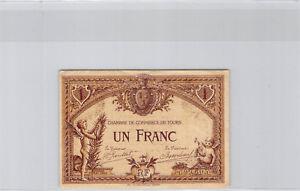 -kammer Handels- Von Umdrehungen 1 Franc 1er Mai 1915 N° 699605 Einfach Zu Verwenden