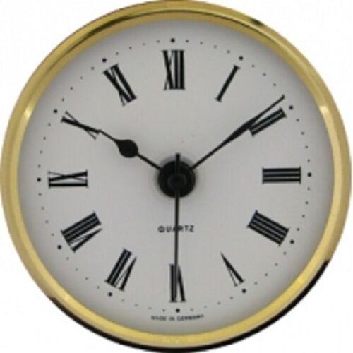 Nouveau mouvement horloge quartz d/'insertion 65mm diamètre chiffres romains-cm531