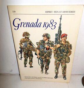 BOOK-Men-at-Arms-MAA-159-Grenada-1983-op-1990-Ed
