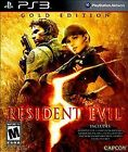 Resident Evil 5: Gold Edition (Sony PlayStation 3, 2010)