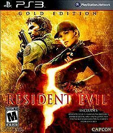 1 of 1 - Resident Evil 5: Gold Edition (Sony PlayStation 3, 2010)