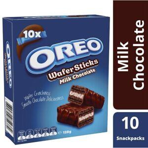 Oreo Milk Chocolate Wafer Sticks 128g