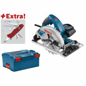 Bosch-Handkreissaege-GKS-65-GCE-Klappmesser-Victorinox-in-L-BOXX