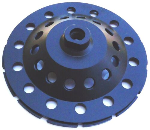 "7/"" NEW PRO.DIAMOND CUP WHEEL POWERFUL T-SEG 4 HARD CONCRETE STONE GRINDING"
