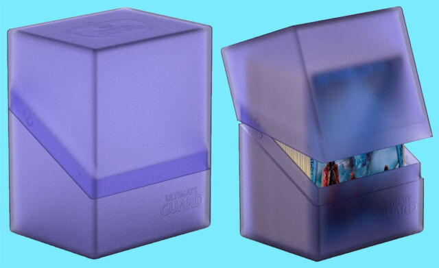 Ultimate Guard Boulder Deck Case 80 Amethyst Small Card Game