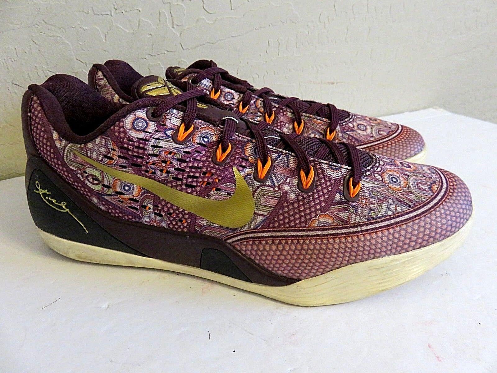 Raro Kyrie de coleccion de encaje hasta zapatillas Nike Kyrie Raro Morado Floral Hombre 9,5 db26e2
