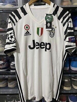 Adidas Juventus Paulo Dybala Third Jersey Shirt 2016 2017 Bnwt Sz L Ucl Zebra Ebay