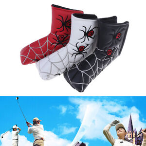 Spider-Golf-Putter-Cover-Blade-Golf-Headcover-Putter-Club-Head-Cover-Access-v