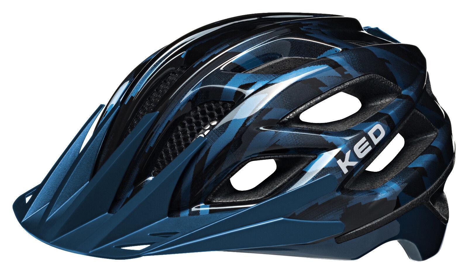 KED Casque Companion schwarz Blau   Größe L 55–61 cm   11103890226 L