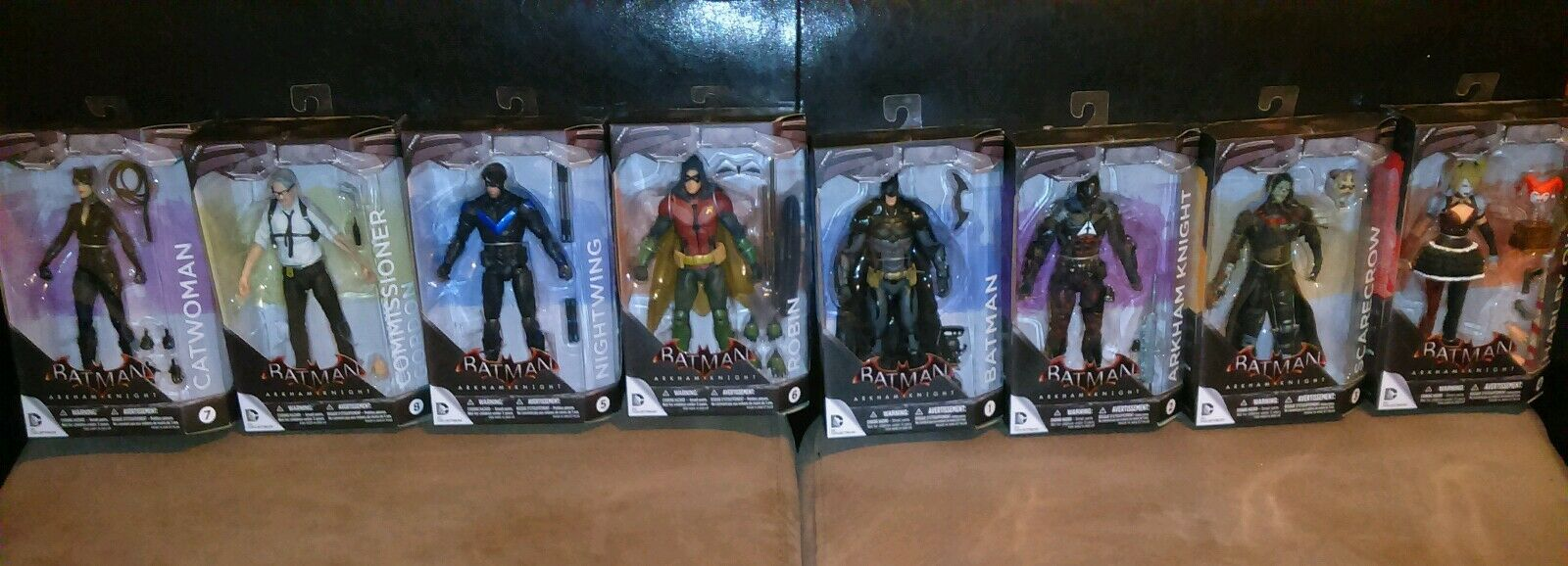 Batman Arkham Knight - Action Figures Full Collection 1-8 (