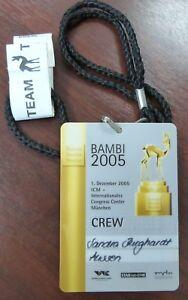Bambi-2005-VIP-Backstage-Artist-Crew-Pass-Congress-Center-Muenchen