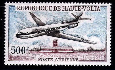 Nett Burkina Faso-obervolta 236 ** Burkina Faso Flugzeug Caravelle