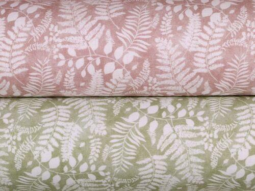 150cm Digitaldruck Pflanzen flieder Popeline
