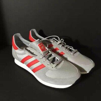 Rare Adidas Originals ZX RACER Gray Red S79206 Men's Running Shoes Retro 9.5/8.5 | eBay