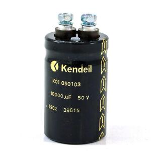 Sangamd DCM Electrolylic 10000UF 50V DC WKG Capacitor 2 Screw terminals