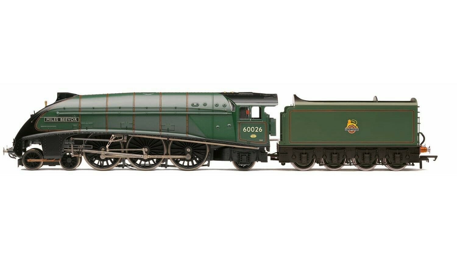 R3522 Hornby i treni OO Gauge BR Early 462 classe A4 Miles Beevor 600026 nuovo