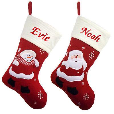 Personalised Luxury Embroidered Christmas Santa Sack Jumbo Size