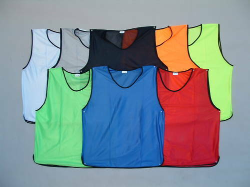 SPORTS soccer football rugby TRAINING BIBS mesh 3 SIZES - New