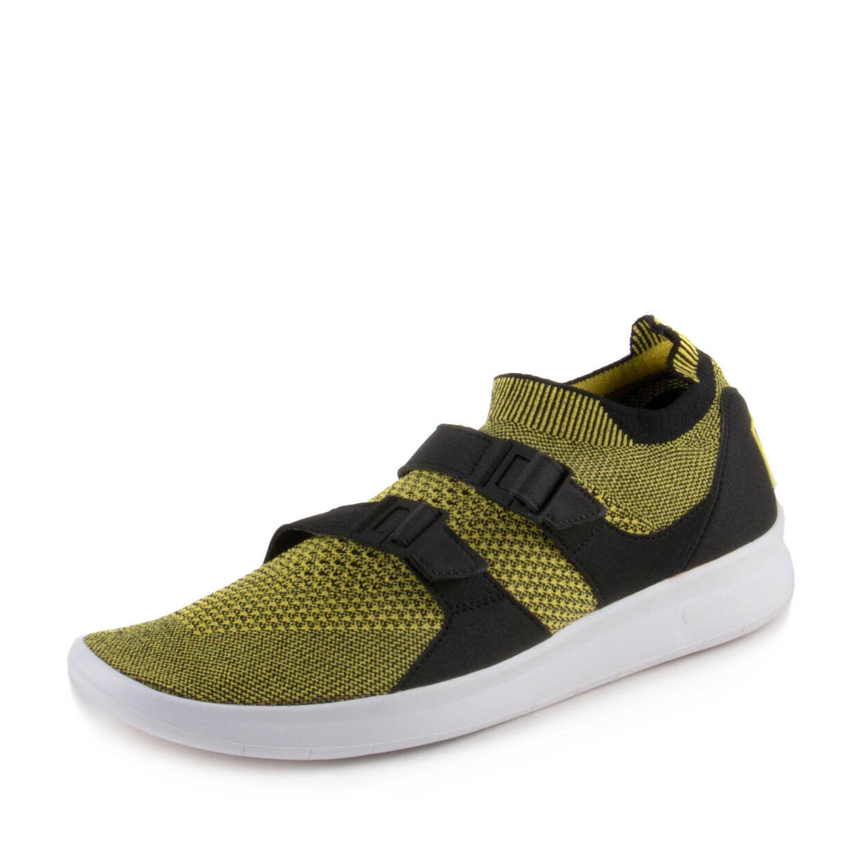 Nike Mens Air Sockracer Flyknit Yellow Strike 898022-700