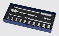 15pc 716 112dr 12pt Usa Shallow Supertorquechrome Socket Set Wss Ftb