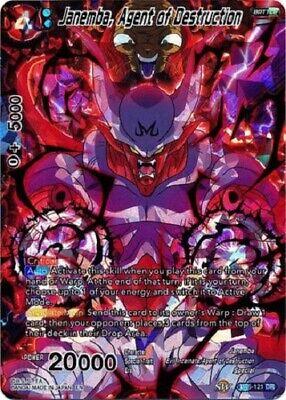 Agent of Destruction BT6-121 DR Dragon Ball Super TCG Near Mint Janemba