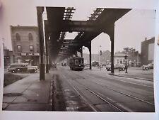 1947 Fulton & Pennysylvania Trolley Brooklyn East New York NYC Photo