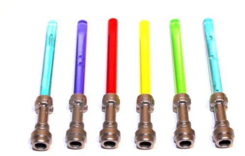 6x LEGO® Laserschwert Lichtschwert 64657//30374 NEU 5 Farben Star Wars Silber