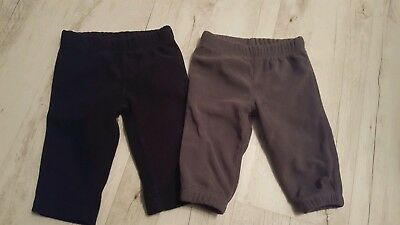 2 Carters Fleecehosen 3 Monate Ca.50/56 Modern Und Elegant In Mode