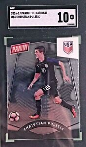 Christian-Pulisic-2016-2017-The-National-Rookie-86-SGC-10-Gem-Mint